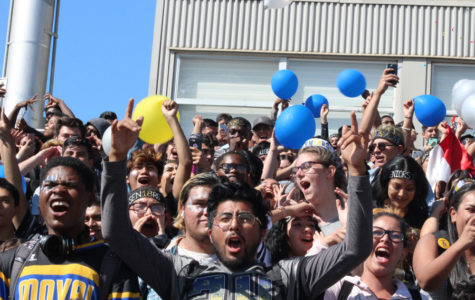 "MOVAL STUDENTS ""TOON"" INTO SCHOOL SPIRIT AT THE HOMECOMING PEP RALLY"