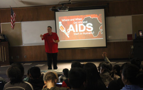 GSA Club Educates Students About the Dangers of AIDS on World AIDS Day