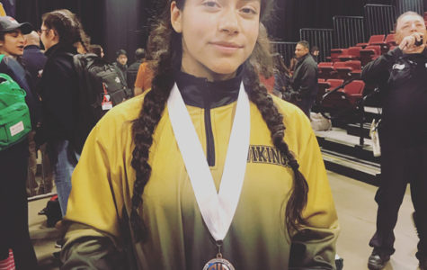 Genesis Miranda Wins 8th In The Nation at the Girls CIF State Wrestling Championship