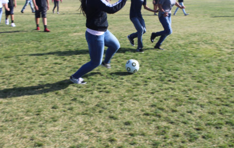 On the School Wide SAT Day, the Freshmen Got to Play