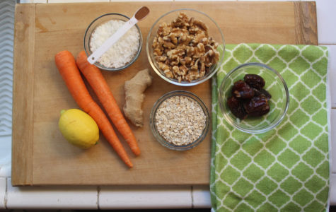 Get Springy with Carrot Energy Balls