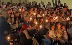 Landmark Holds Vigil to Honor Deceased Student